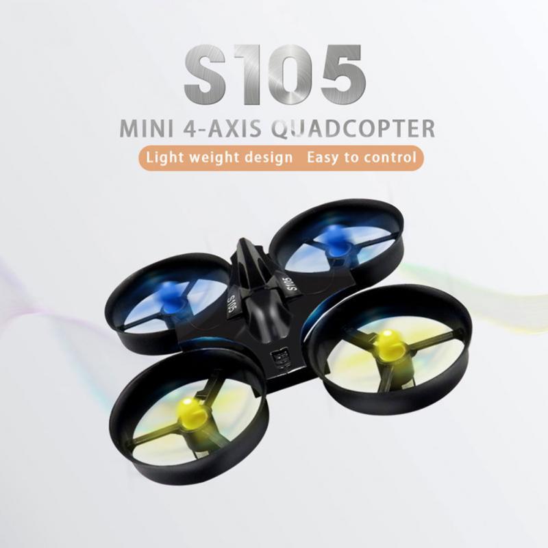 Flytec S105 RC drone Mini Poche 4-axis Sans Pilote 2.4G Drop-résistant Télécommande Avions Jouets