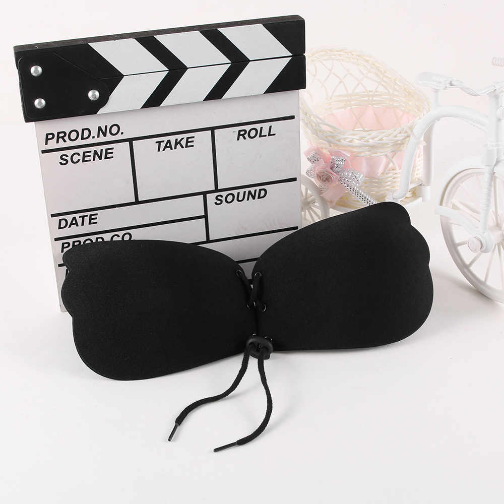 New 1 PC Strapless Silicone Push-Up Backless Self-Adhesive Gel Magic Stick Invisible Bra 2017 Fashion Women Bras