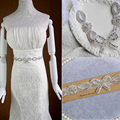 Handmade Luxurious Exquisite Bling Bridal Sash Crystal Rhinestone Cummerbunds Waistband Formal Wedding Evening Dress Belts