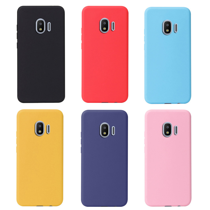 Case For Samsung Galaxy J2 2018 Case Soft Silicone Back Cover Coque Capa