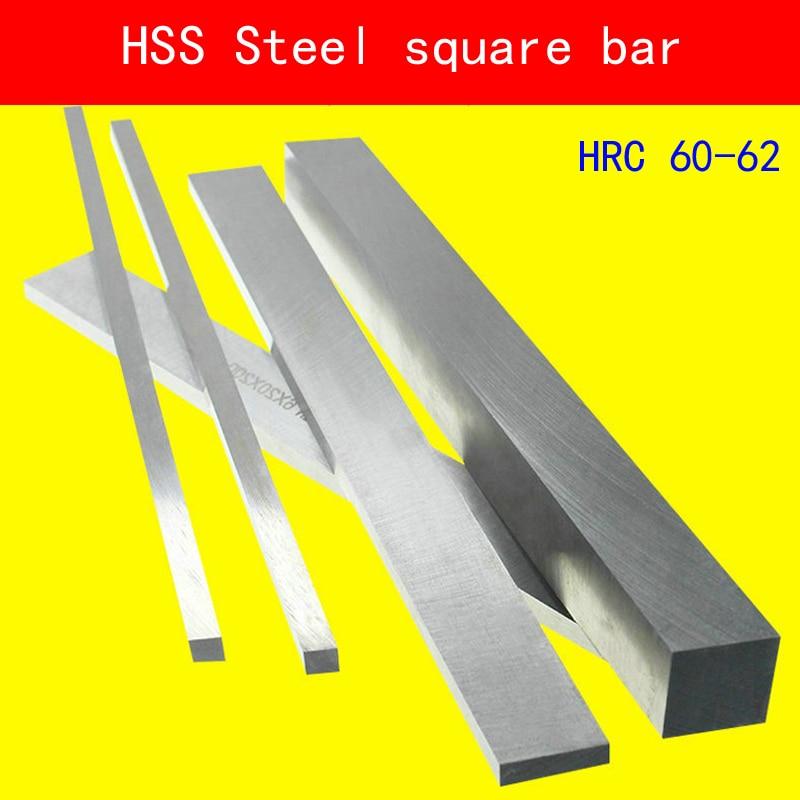 HSS Steel Plate HRC60 to HRC62 Sheet Turning Tool High Speed Rectangular Bar Lathe CNC Milling Cut