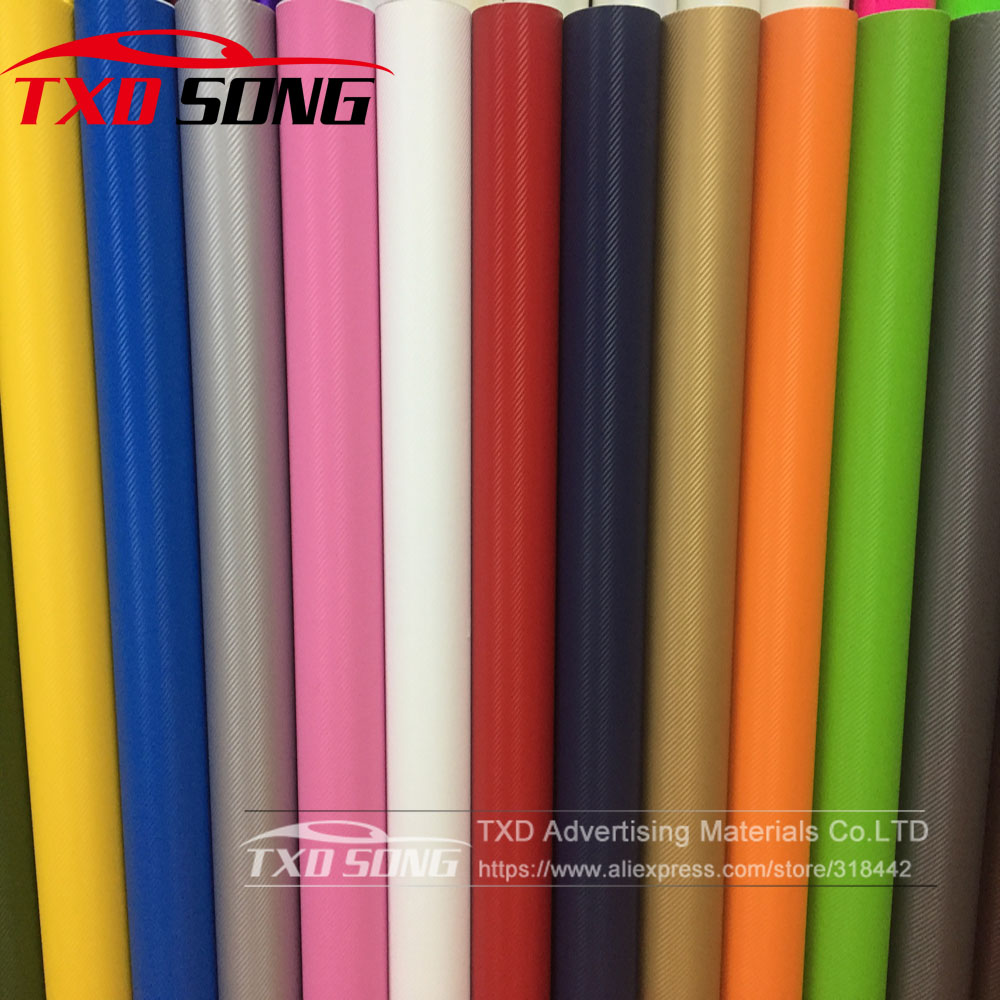 Free Shipping 3D Carbon Wrap Vinyl Without Air Bubbles With Cheapest Price 1.27*30m Per Roll 3D Carbon Sticker 3D Carbon Film
