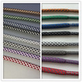 Weiou fashion 3m Custom sports shoelaces High quality boot laces reflective cord Support Customized color