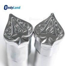 CandyLand Лопата молоко таблетка штампа 3D пробивной пресс формы конфеты пробивки штампы Пользовательский логотип кальция таблетки пробивки штампы для TDP5 машины
