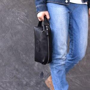 Мужские кошельки из натуральной кожи для мужчин, кредитный держатель для карт, клатч, мужские сумки, портмоне, мужские длинные кошельки, кош...