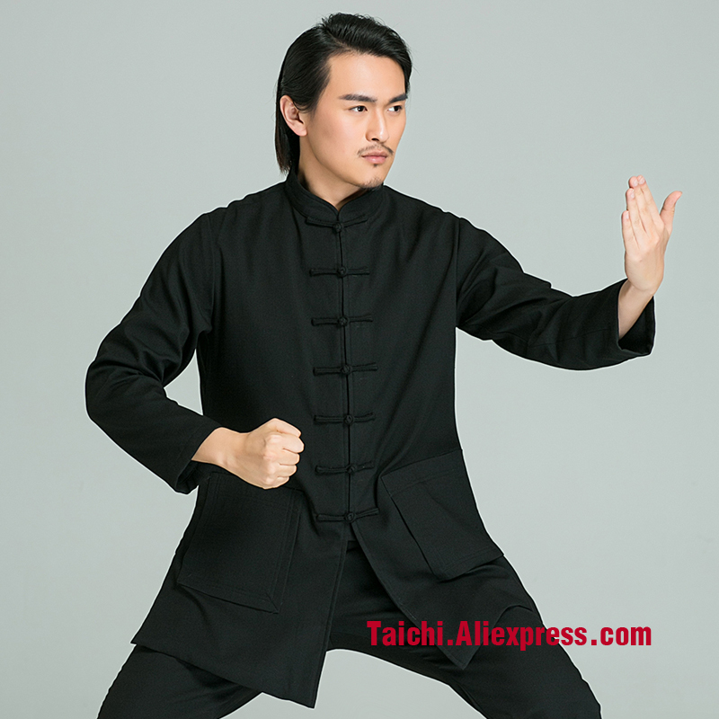 2017  Wing Chun Uniform Chinese Style Clothes Handmade Linen Tai Chi Uniform Wushu  Kung Fu Martial Art Suit