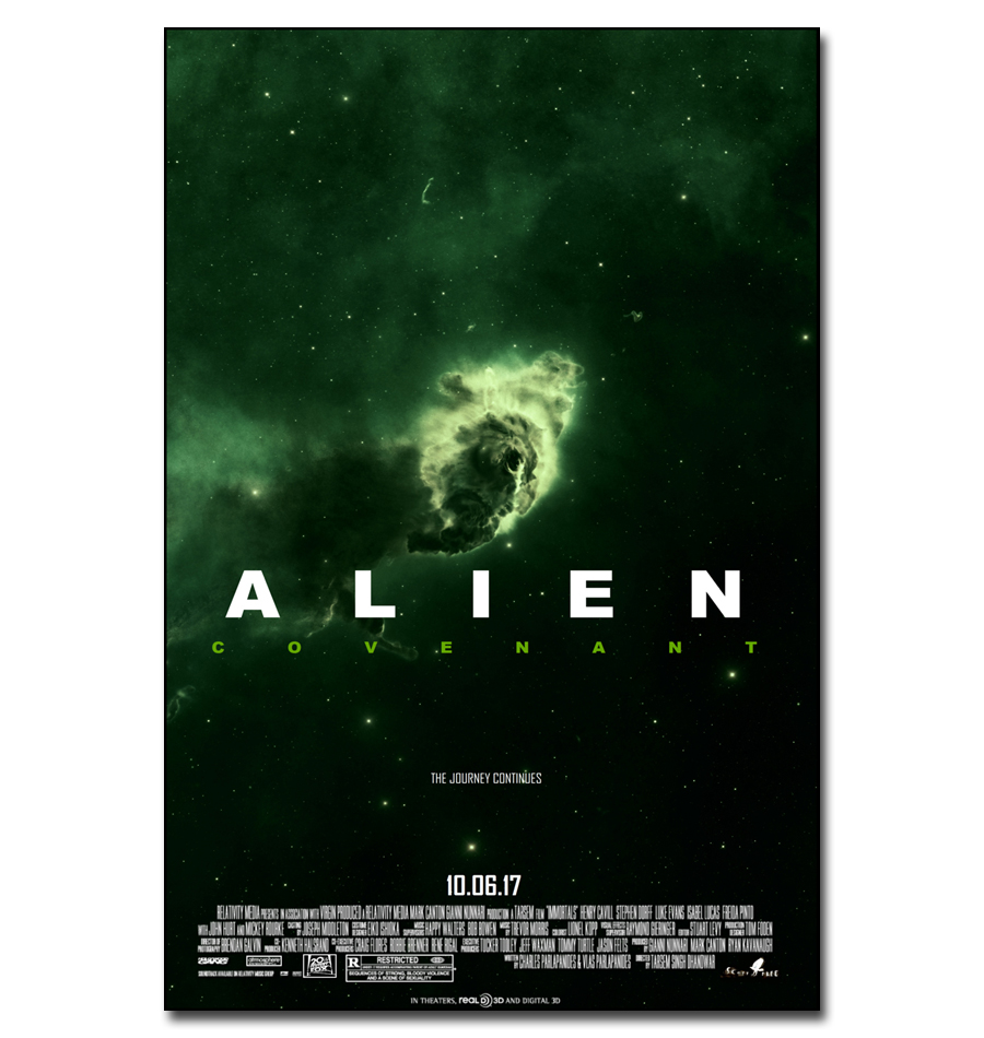 J3178 2017 NEW ALIEN COVENANT Movie Michael Fassbender Pop 14x21 ...
