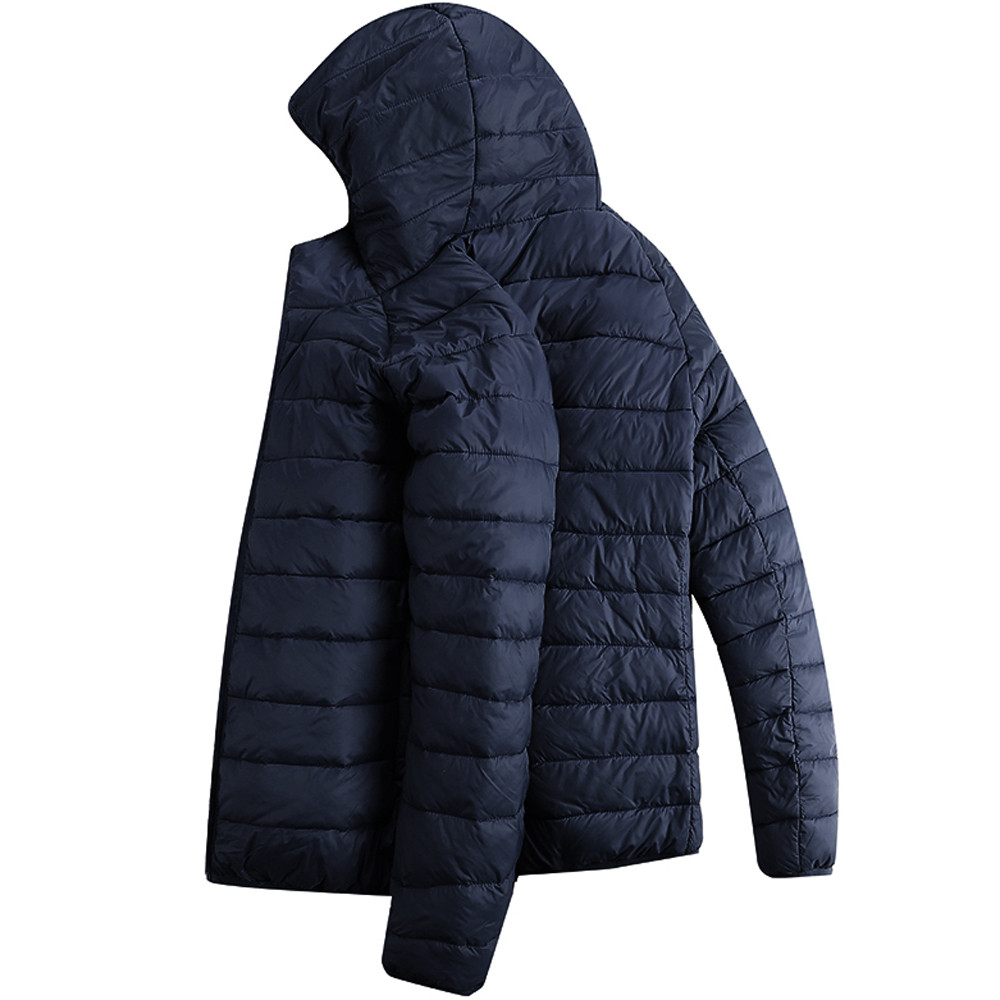 HTB1r07 XvfsK1RjSszbq6AqBXXa2 Jacket Men Autumn Winter Style Light Weight Overcoat Outerwear Coats Cotton Warm Hooded Men's Jacket Coat chaqueta hombre S-2XL