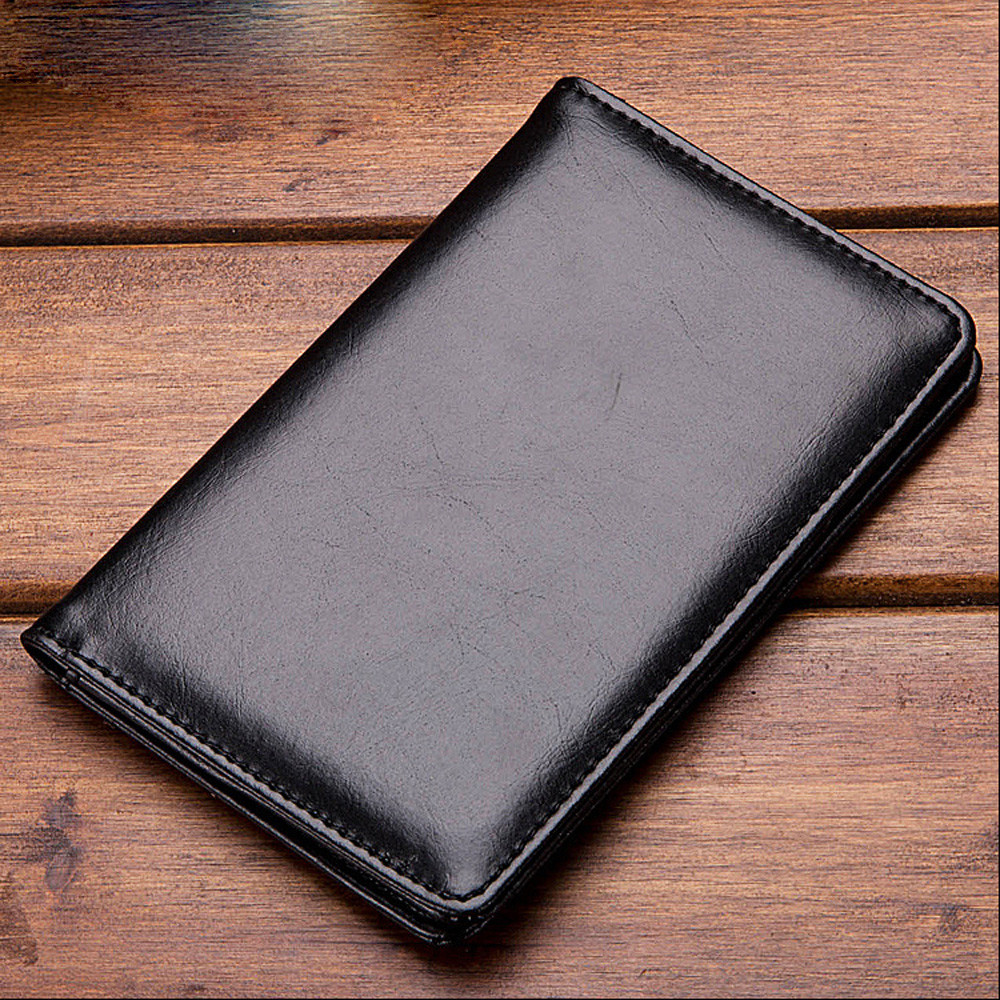 Naivety PU Leather Credit Card Cash Holder Short Multi-functional Wallets Men Bifold Bus ...