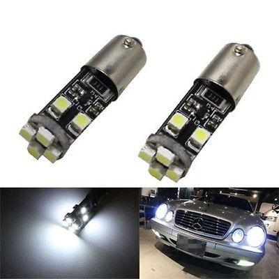 Бесплатная доставка,2x о ba9s Н6ВТ 6000К нет ошибок светодиодные габаритные огни для Мерседес W210 Е420