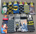 24pcs=12pair NEW men cartoon mixed style batman superman joker USA superhero movie Film Fans men Classical Socks 24pcs/lot