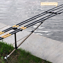 Telescopic Fishing Bracket Holder Back Stand Foldable For Fishing Rod Pole Holder Stand Rod 1.5M 1.7M(China)