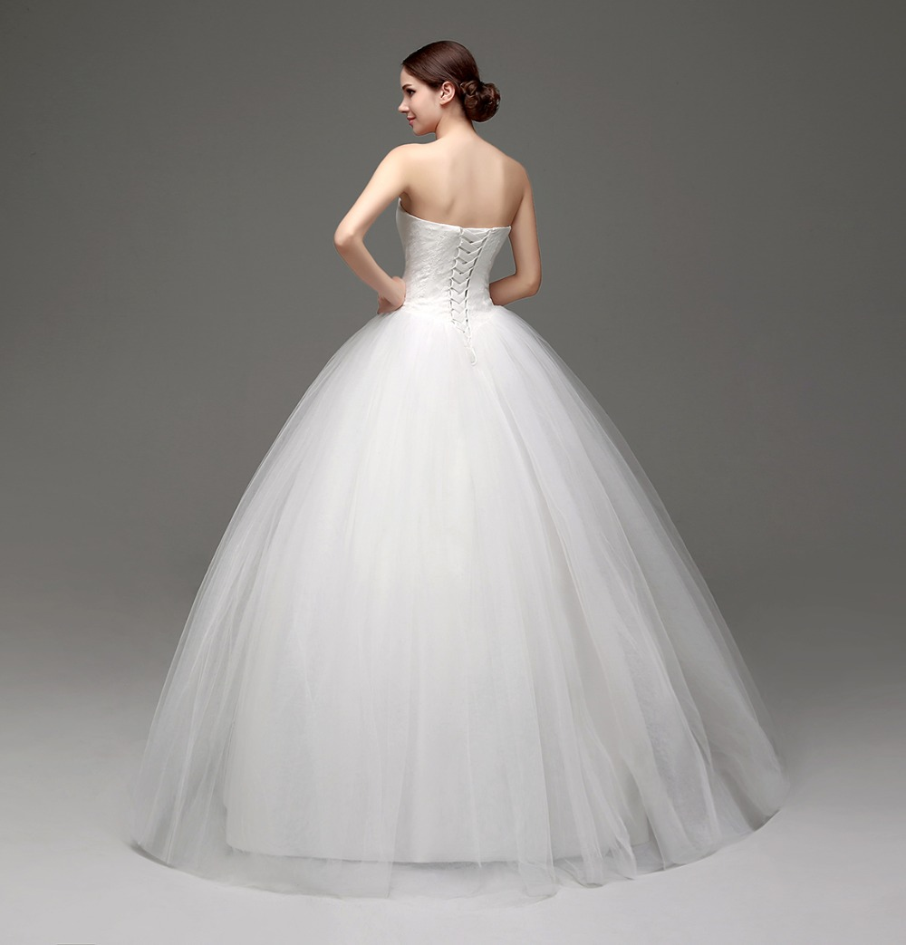 Aliexpress.com : Buy Garden Wedding Dresses Sweetheart Appliques ...