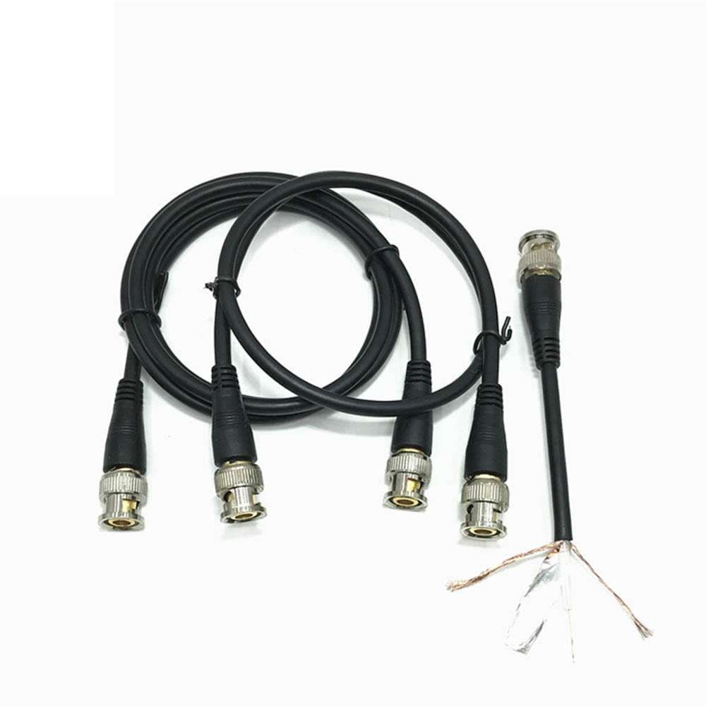 0.5M/1M/2M/3M BNC Male To Male Adapter Cable For CCTV Camera BNC Connector Cable Camera BNC Accessories