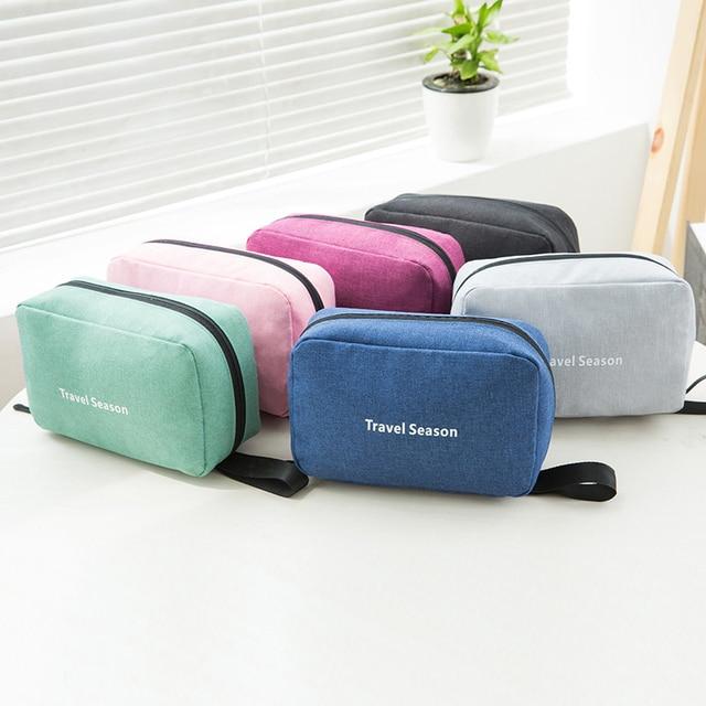 Travel Hanging Cosmetic Bag Women Makeup Organizer Beauty Washing Toiletry Kits Case Female Zipper Handbag Wholesale Accessories 5