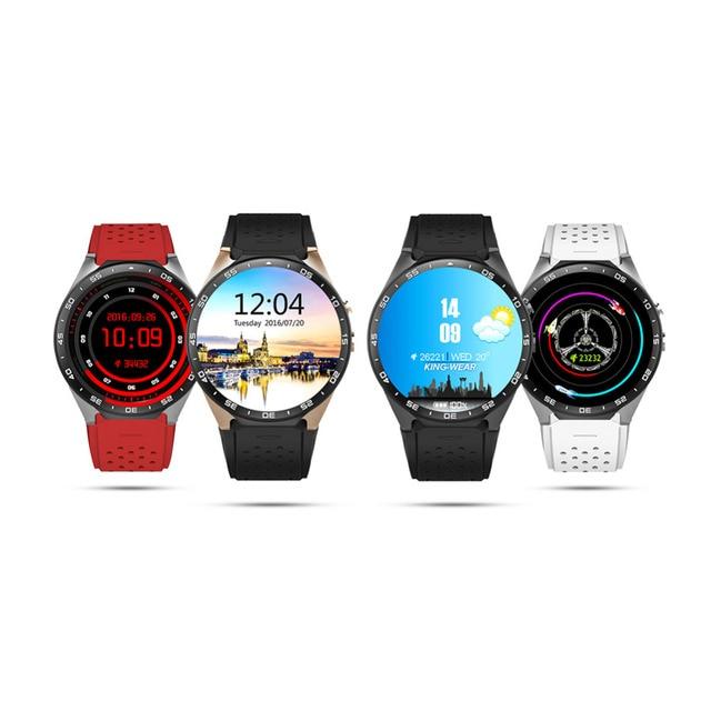 Лучшие продажи KW88 Смарт-часы Android 5.1 MTK6580 Процессор 1.39 дюймов 3 г Wi-Fi SmartWatch для Samsung Huawei телефон часы PK GT88 KW18