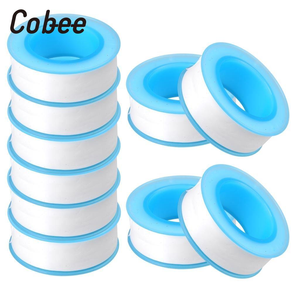 5 Rolls PTFE Thread Seal Tape Plumbing Fitting PTFE For Water Pipe Sealing