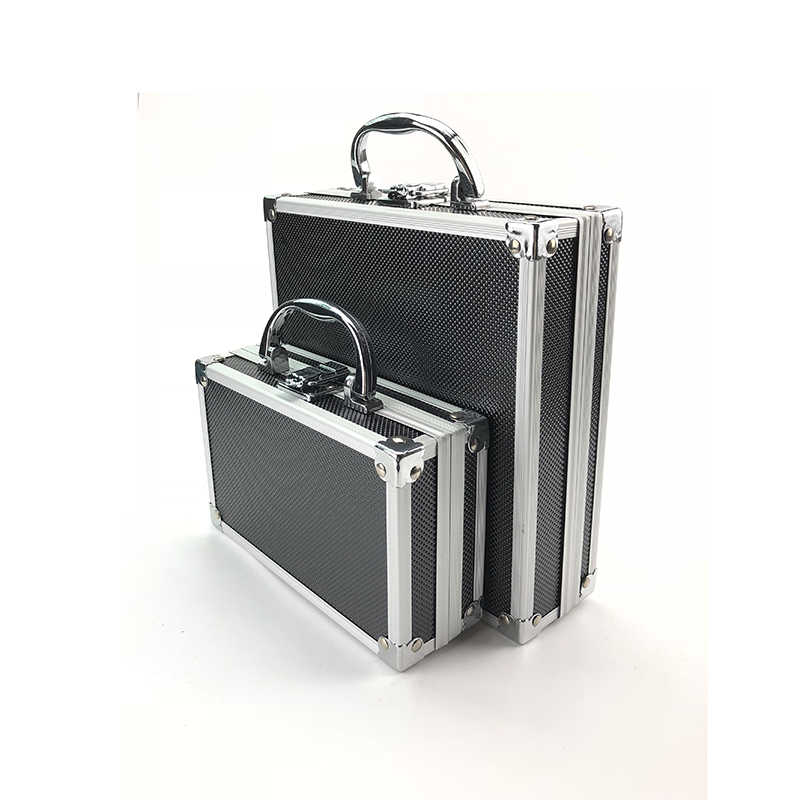 Kotak Alat Paduan Aluminium Toolbox Case Penyimpanan Alat Portable Case Travel Luggage Organizer Safety Box