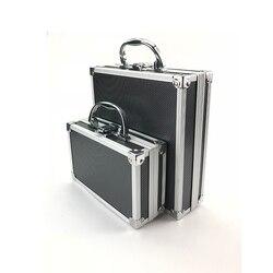 Caixa de ferramentas de liga de alumínio caixa de ferramentas de armazenamento portátil caso de viagem organizador de bagagem caso caixa de segurança