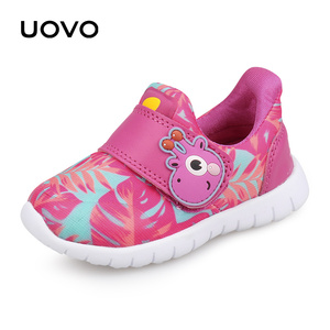 Image 2 - UOVO 2020 חדש לפעוטות נעלי בנים ובנות נעליים יומיומיות סתיו לנשימה ילדים קטנים נעליים חמוד ילדים של הנעלה גודל 22 # 30