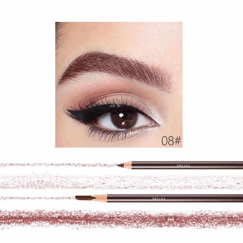 10 Colors Waterproof Eyebrows Pencil Long Lasting Eye Brow Tattoo Tint Pen Cosmetic Extra Slim Sharpener Tip Eyebrow Enchance