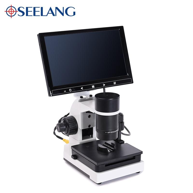 "Image 5 - profesional Nailfold Capillary Microcirculation USB HD digital Microscope Blood Microcirculation + 7"" or 9"" Color LCD DisplayerMicroscopes   -"