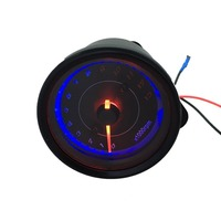 2 Colors DC 12V Electronic Induction Type LED Backlight Motorcycle Speedometer Meter Counter 13k RPM Shift