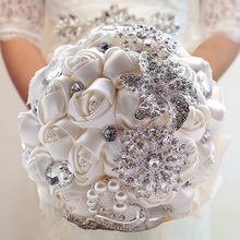 Weddings Bridal Bouquet Bride Holding Flowers Valentines Day Bouquets White Purple Pink Red Colorful Wedding