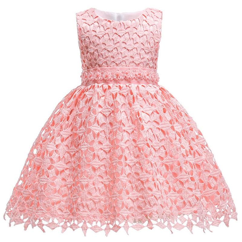 6219ca293 Cheap Encaje infantil perla Formal noche boda tutú princesa bebé vestido  flor niñas niños ropa fiesta