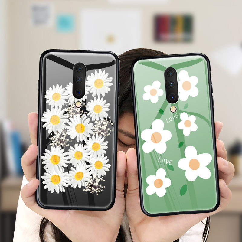 Tempered Glass Phone Case For font b Oneplus b font font b 7 b font font