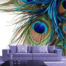Popular Wallpaper Peacock Feather Buy Cheap Wallpaper Peacock