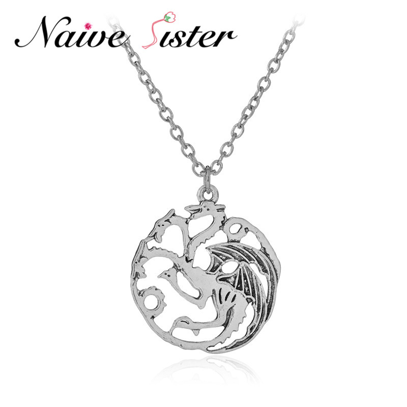 Game Of Thrones Dragon Pendants Amp Necklaces Song Of Ice