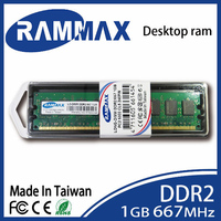 LO DIMM 667Mhz Desktop Memory Ram 1GB DDR2 PC2 5300 240 Pin CL5 1 8v Perfectly