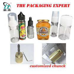 Customized Chuck For Capping Machine Big Cap Glass Bottle Capping Head Special Shape Caps For Eliquid