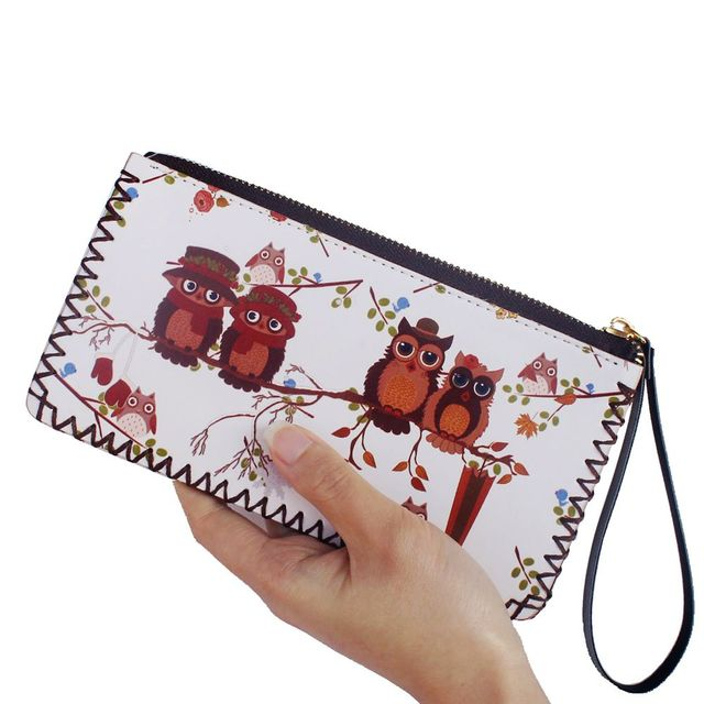 3f5e7d3bb Búho graffiti cartera chica muñeca dibujo hecho a mano bolso mujer bolsos y  carteras mujer embrague