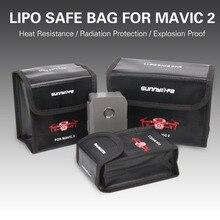 Mavic 2 Pro/Zoom Bateria Estojo protetor Saco De Armazenamento Saco à prova de Explosão-Seguro para dji mavic 2 pro /zoom Drone Acessórios