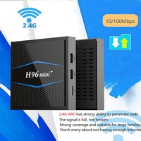 H96 Mini Smart Tv Box Android 7.1 2.4G 5GHz Wifi Bluetooth 4K Set Top Boxes android Tv Box Media Amlogic S905W Quad Core 2G 16G