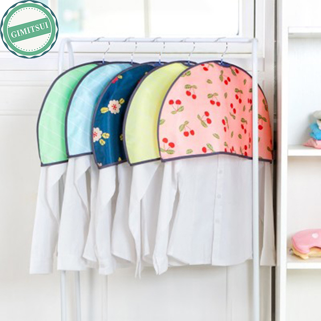 Shoulder Cover Closet Hanger Garment Protect Dust Suit Storage Cloth  Hanging Suit Coat Dust Cover Protector