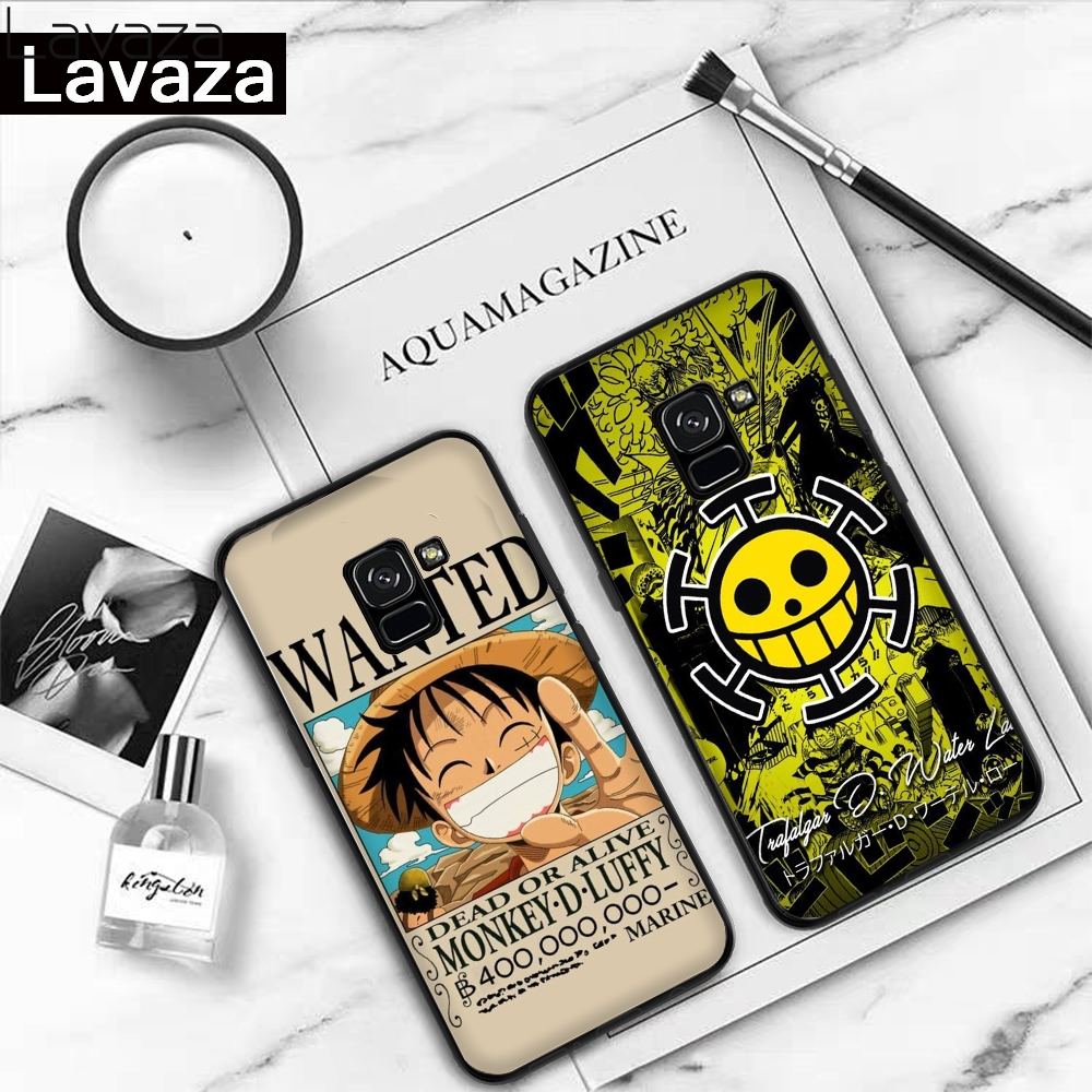 Lavaza Anime One Piece Silicone Case for Samsung A3 A5 2016 2017 A6 Plus A7 A8 A9 A10 A30 A40 A50 A70 J6 2018 A10S A30S A50S in Fitted Cases from Cellphones Telecommunications