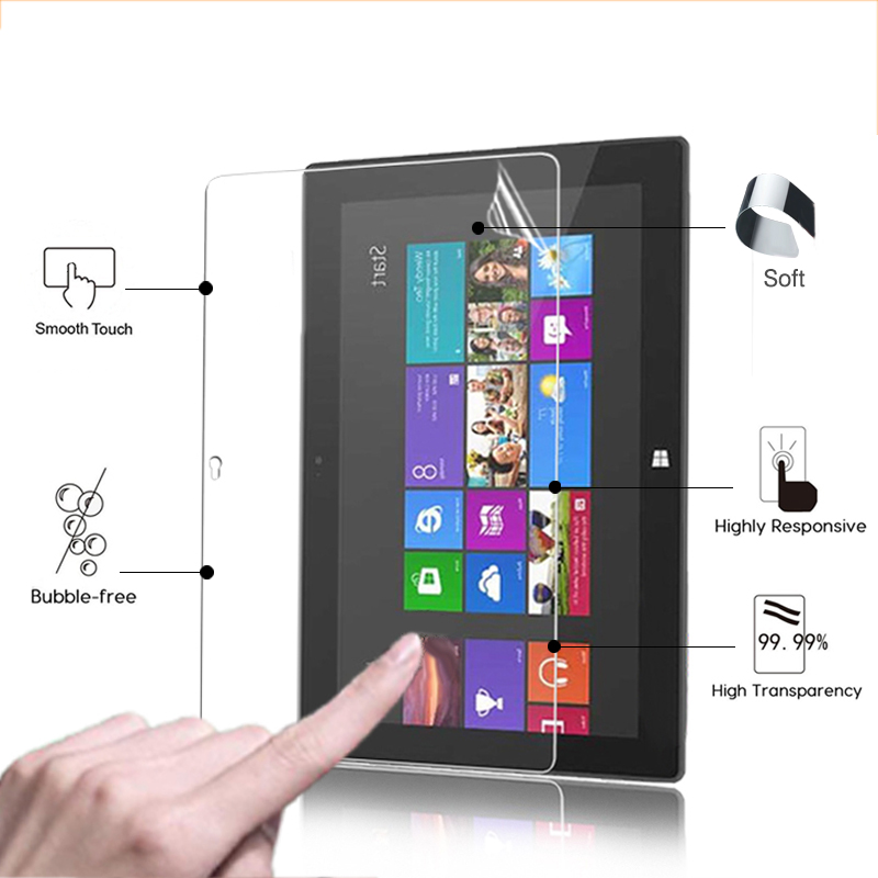 High Clear Glossy Screen Protector Film For Microsoft Surface RT 10.6'' Tablet ANti-Scratched HD Lcd Screen Protective Films