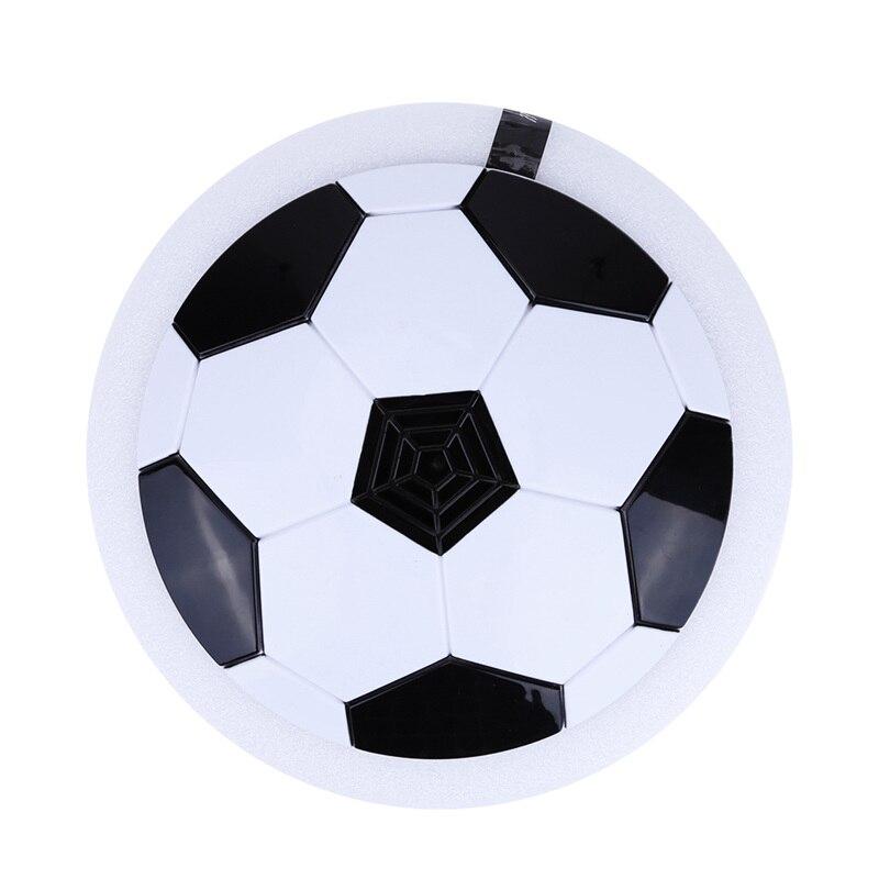 Светодиодные музыкальные мигающие футбольные игрушечные мячи, разноцветные воздушные Мощность Футбольный диск Крытый парящий футбол скольжение открытый детская игрушка подарок
