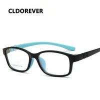 High Quality 2018 TR90 Silicone Kids Glasses Frame Square Children Cute Myopia Optical Eyeglass Frames For