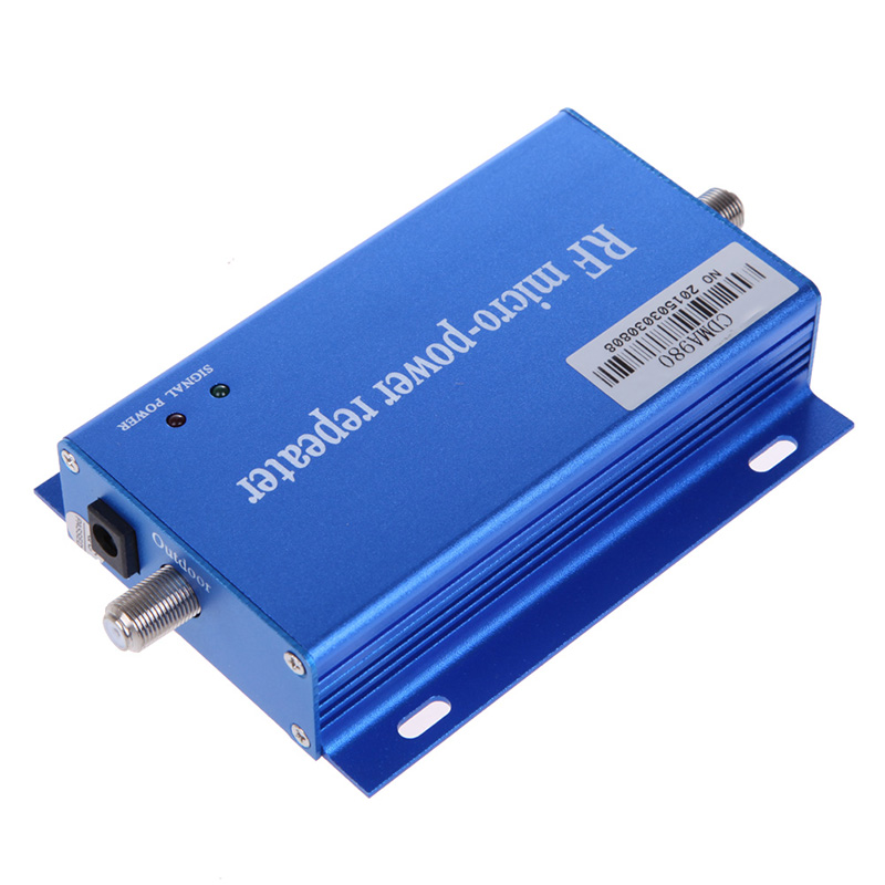Hot Sale Power Amplifier Mini Cell Mobile Phone Signal Booster 3G CDMA 850MHz RF Repeater Amplifier FC