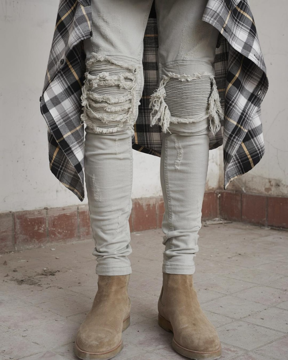 Reichstadt Jungen Kinderhose Jogging Jeans Destroyed Effekt Used Look Streetwear