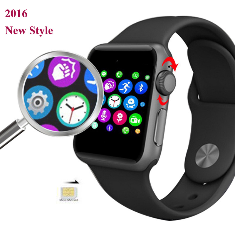 Bluetooth SmartWatch DM09 2.5D ARC HD Screen SIM GSM Smart watch for iphone Android HTC LG Huawei Smart Phone Support Hebrew цена 2017