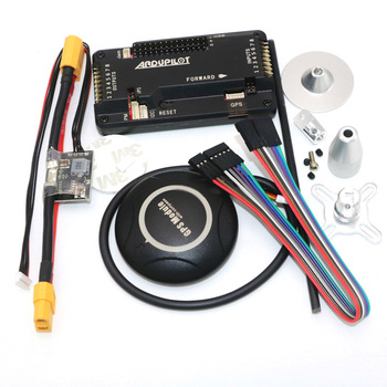 цена на APM 2.8 ArduCopter Mega APM Flight Controller with 7M GPS For FPV Rc Drone RC Airplane Part