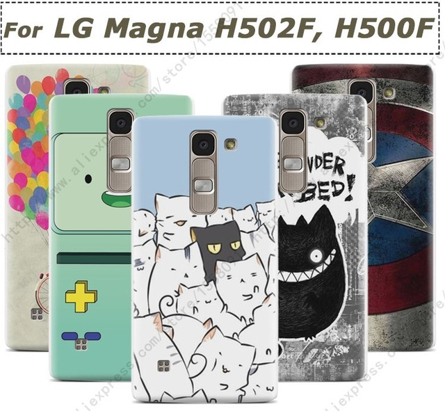 Prefect Slim Plastic Print Hard Cover For LG Magna H502F H500F Case
