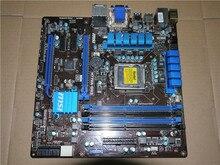 Оригинал материнская плата для MSI H77MA-G43 DDR3 LGA 1155 32 ГБ для I3 I5 I7 CPU USB 3.0 SATA3 H77 материнская плата Рабочего Бесплатная доставка