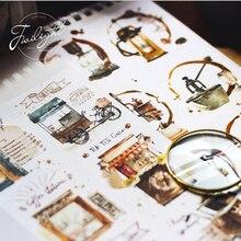 Intense love coffee series paper washi tape DIY Decorative scrapbooking sticker album Scrapbook masking adhesive tapes