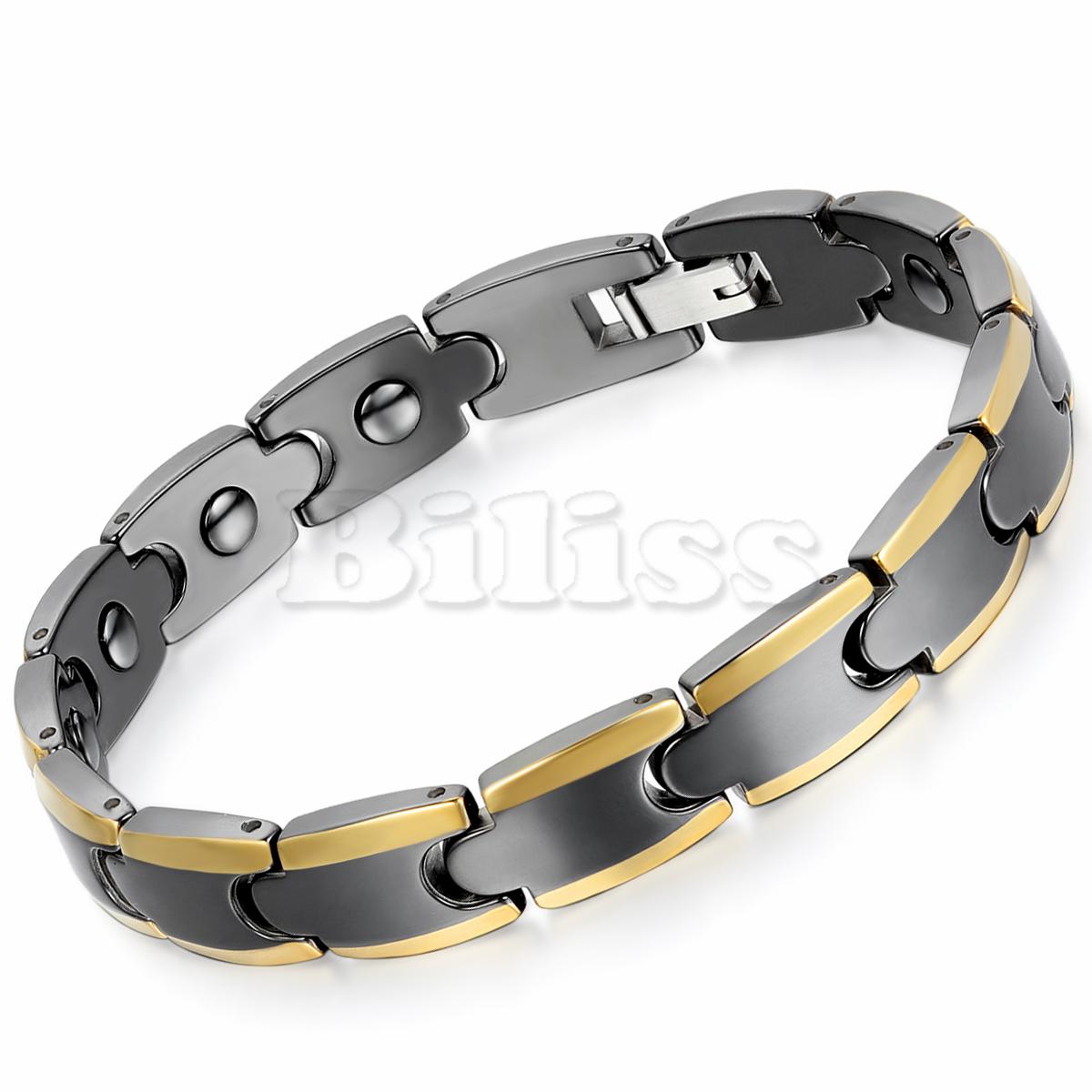leangh bracelet white solid diamonds set black high with row quality gold charm en